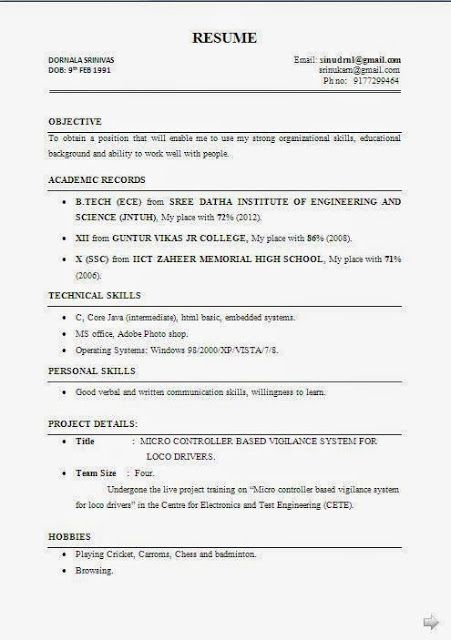 career change resume examples Sample Template Example ofBeautiful - vita resume example