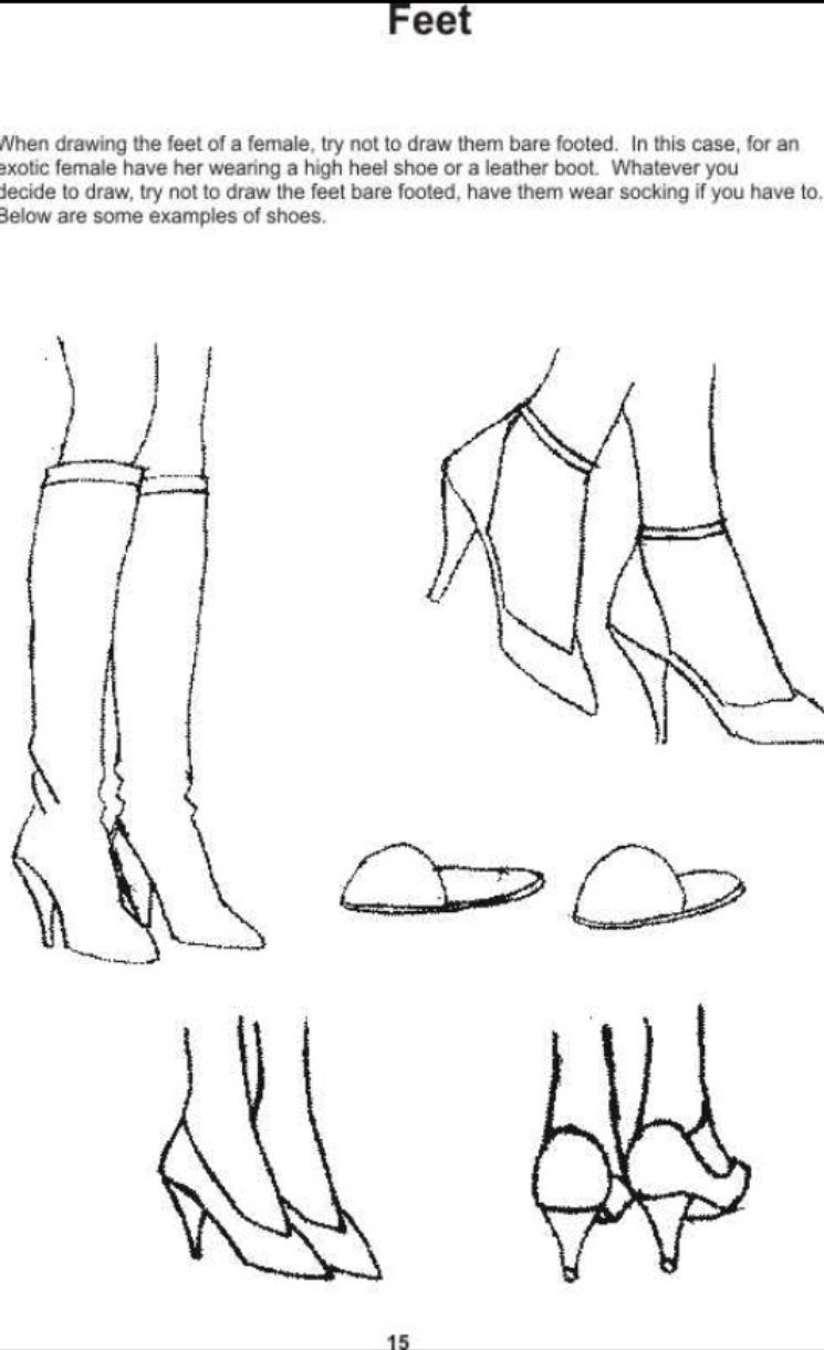 Shoes working drawing figure drawing create words anatomy study drawing techniques