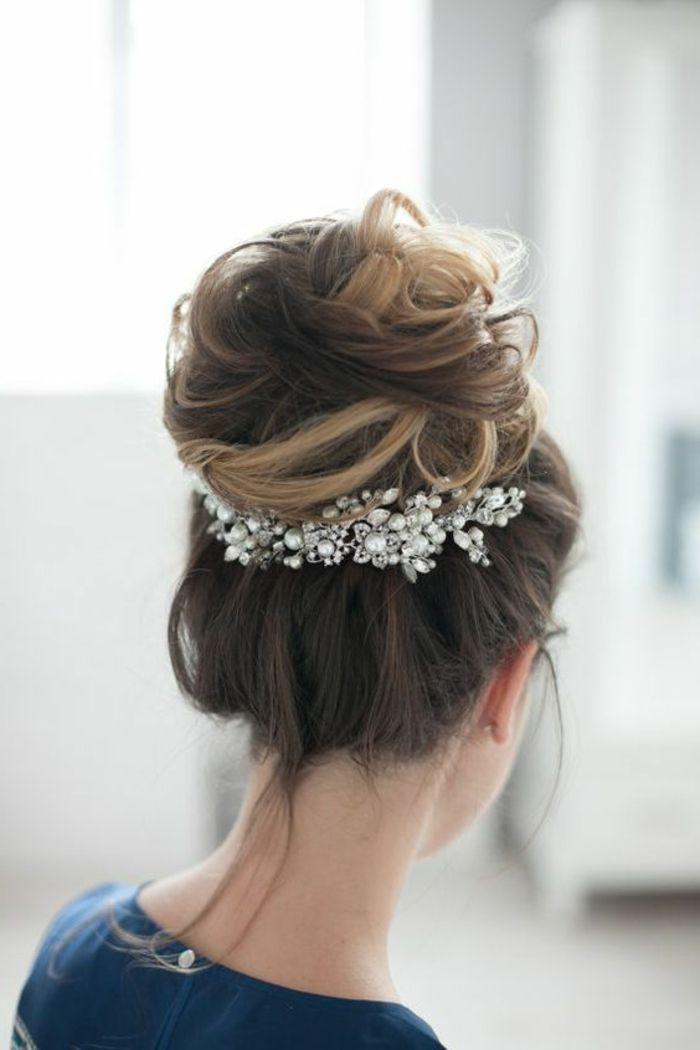 1001 ideas de peinados de novia m s consejos bollo - Consejos de peinados ...