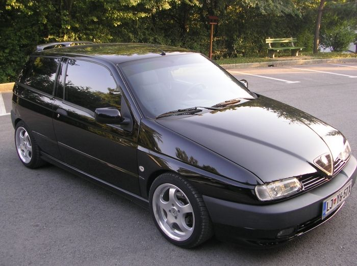 alfa romeo 145 black alfaromeo145 pinterest car. Black Bedroom Furniture Sets. Home Design Ideas