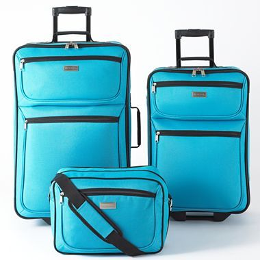 76777c33c Protocol® Crossings 3-pc. Luggage Set - jcpenney | TRAVELIN ...