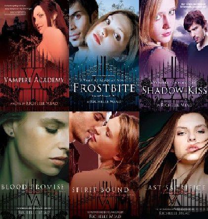 Saga Academia De Vampiros Richelle Mead Buscar Con Google Libros De Vampiros Academia De Vampiros Series De Libros