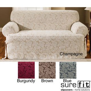 Scroll T Cushion Sofa Slipcover Overstock Com Shopping Big