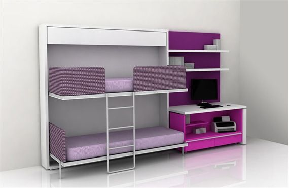 Remodeling Cool Light Purple and White for Teen Bedroom Design Ideas