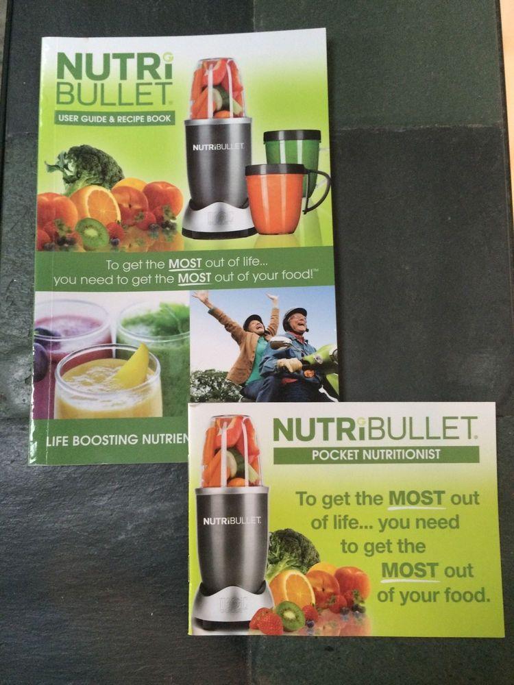 nutribullet user guide recipe book and nutribullet pocket rh pinterest com Nutribullet Recipe Book Nutri Bullet as Seen On TV