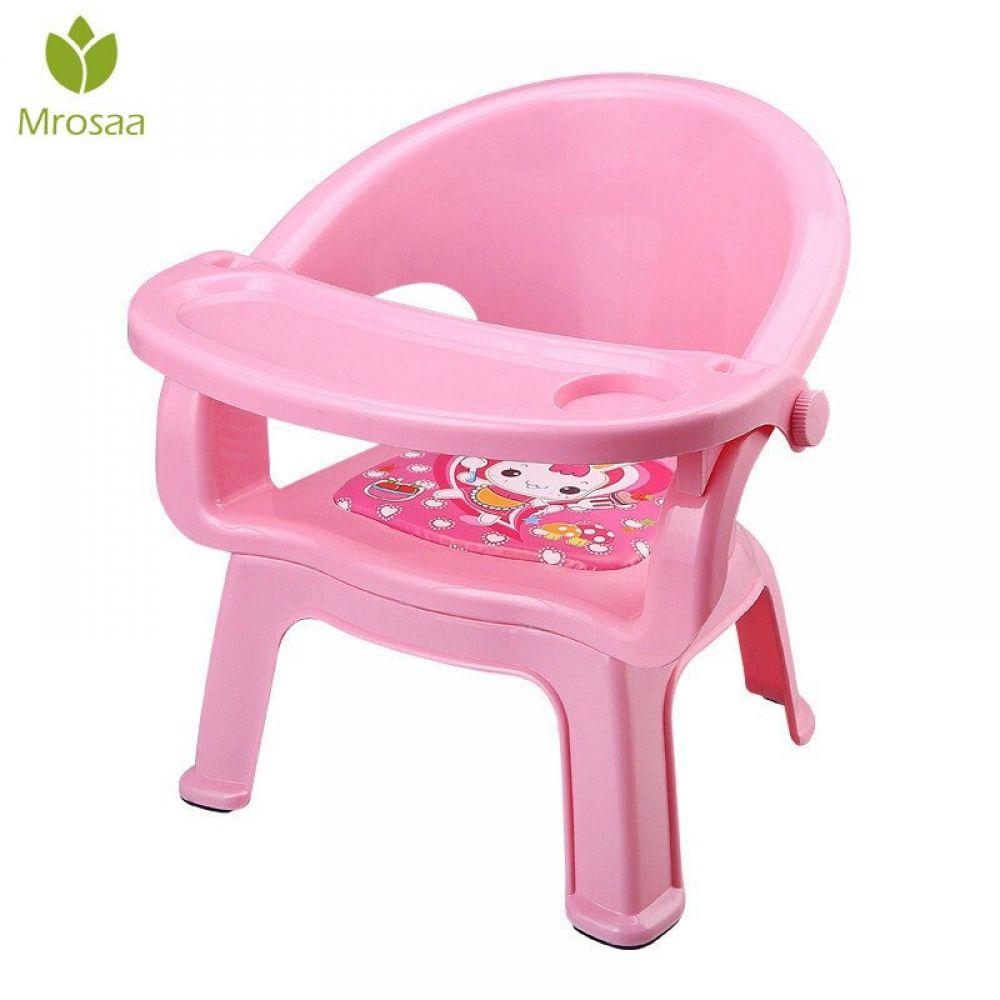 2019nueva Silla De Comedor Para Niños Con Plato De Mesa Para Comer De Bebé Silla De Comedor Llamada Trasera Silla De Bebé De Plás Baby Chair Chair Eating Table