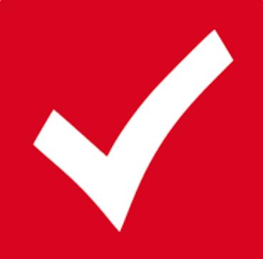 White Check Mark Box Checkmark Box Red Graphic Marks Symbols