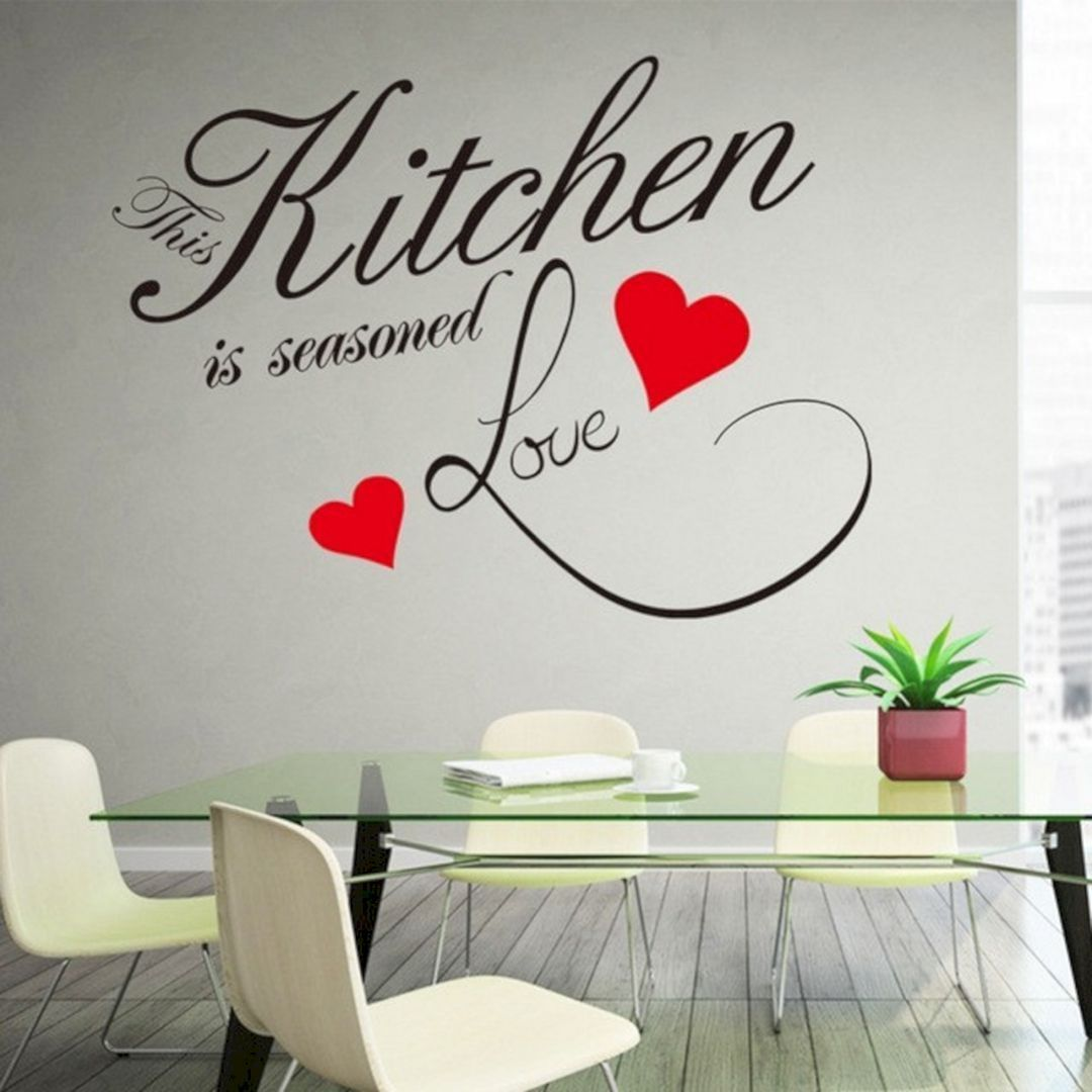 35 most creative dining room wall quotes ideas for amazing home dining room walls wall on kitchen decor quotes wall decals id=22900