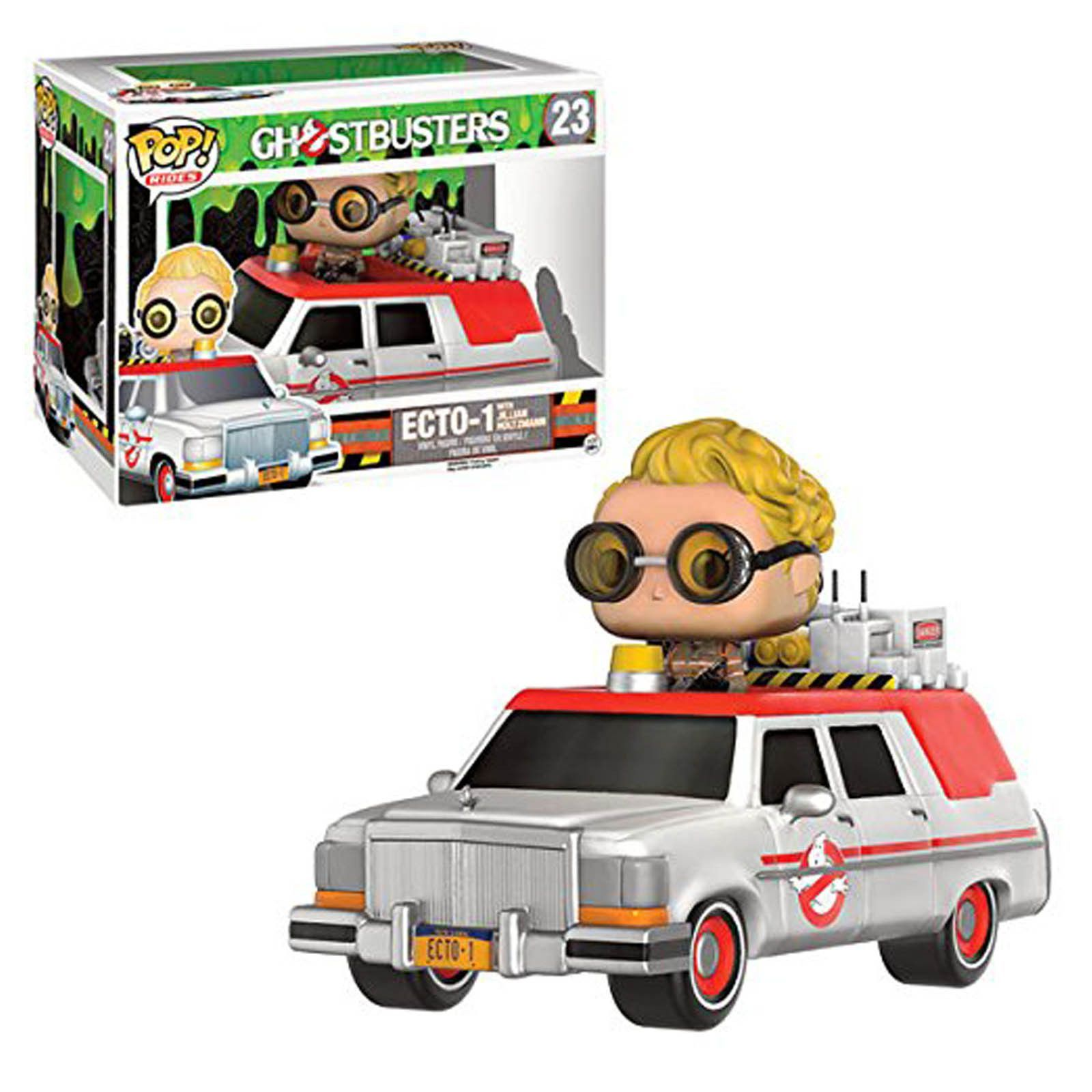 Ghostbusters toys car  Funko Ghostbusters POP Rides Ecto With Jillian Holtzman Vinyl