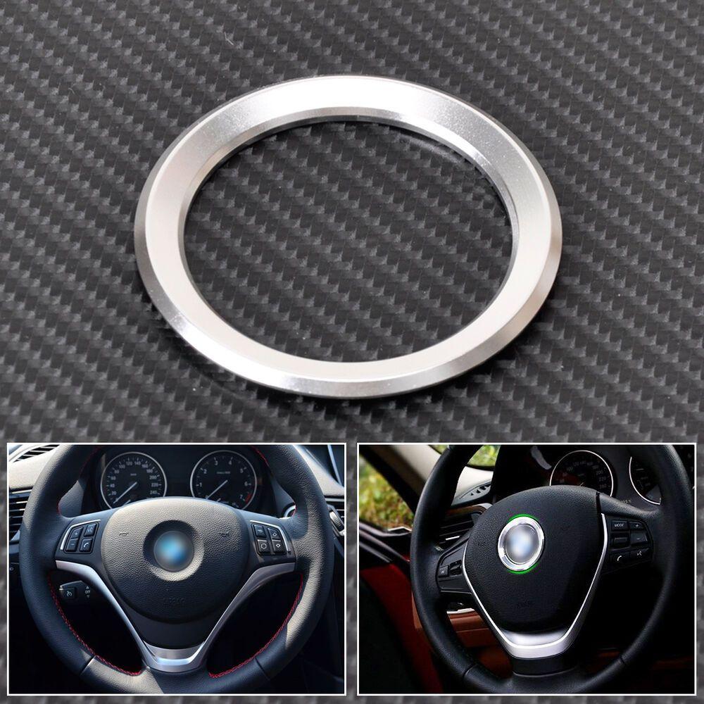Ebay Sponsored Silver Car Steering Wheel Center Ring Cover For