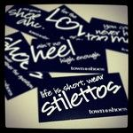 Shoeaholic™ business cards   instagram photos for tag #townshoes