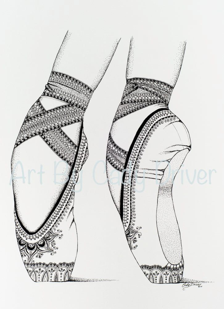 Proper Fifth IBA Ballet Shoes Printable by ExquisiteInkByCady ...