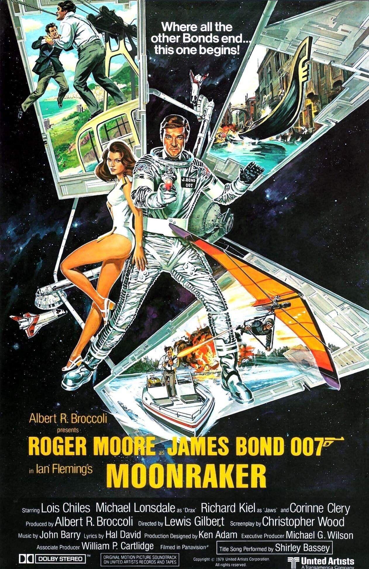 James Bond Movie Posters Image By Alexander Calloway On Retro Pop
