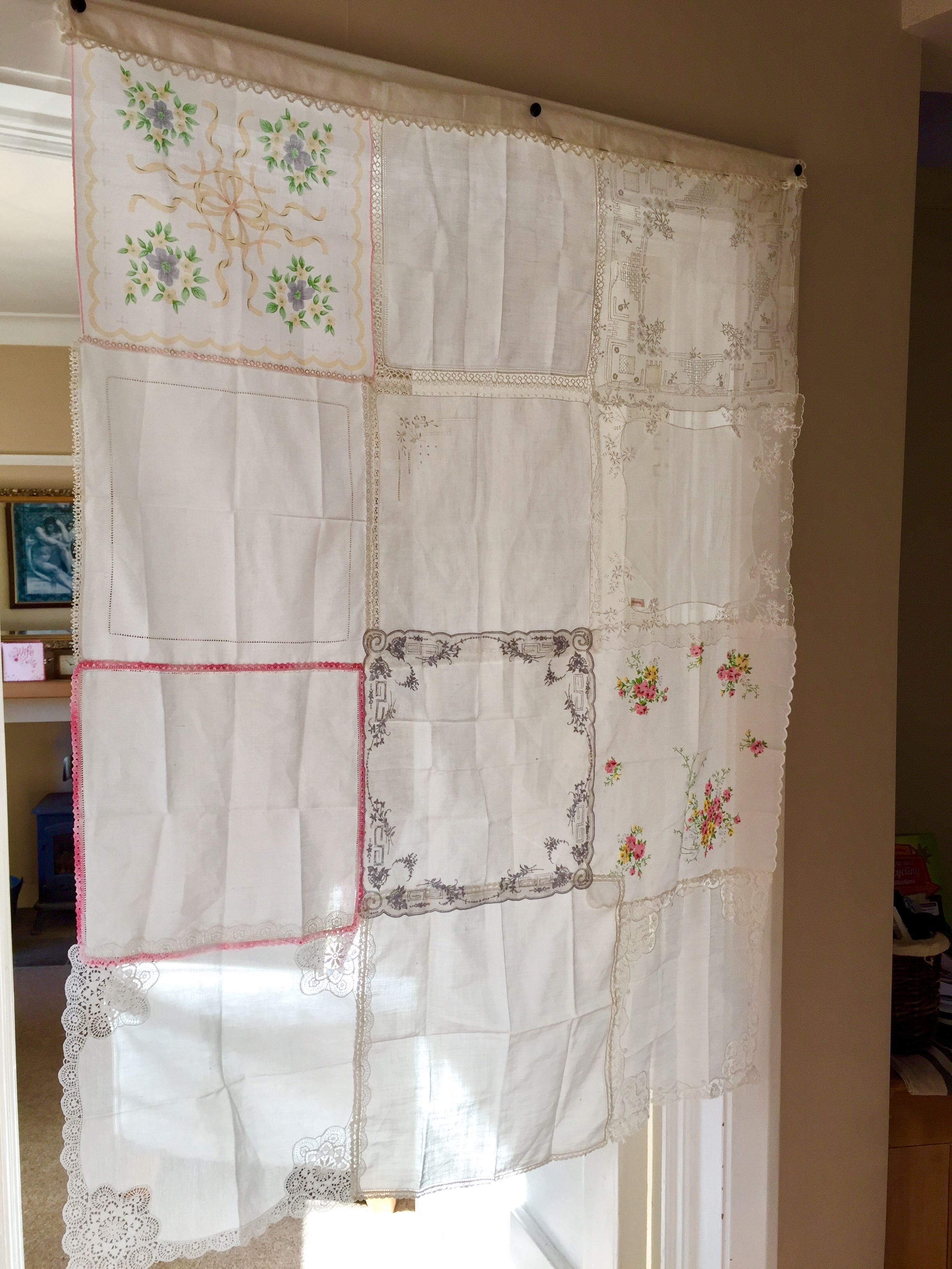 how to make a valance out of a curtain panel