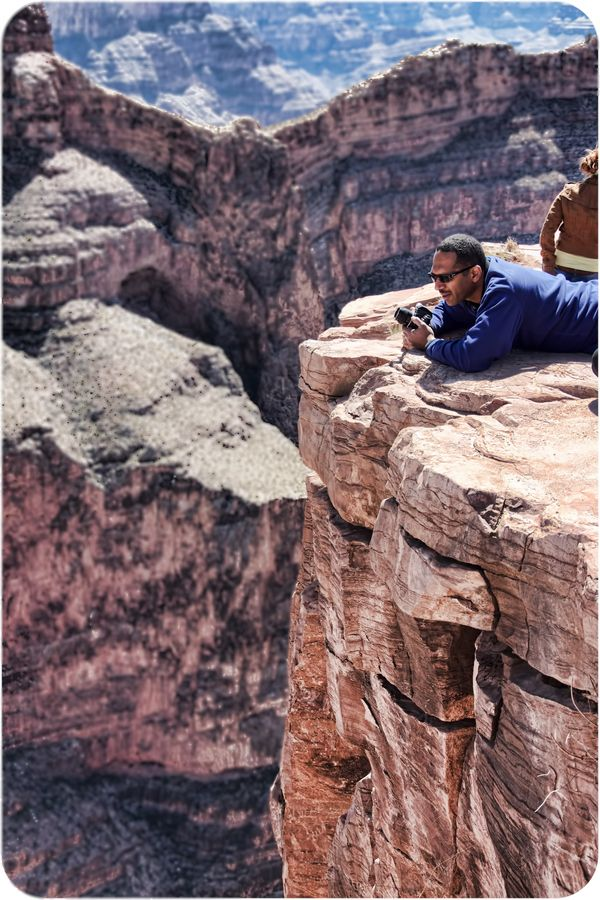 Grand Canyon - Whatever it takes for that shoot...