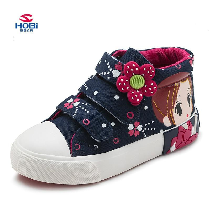 New Spring Kids Girls Casual Shoes Children Flats Princess Shoes for Students