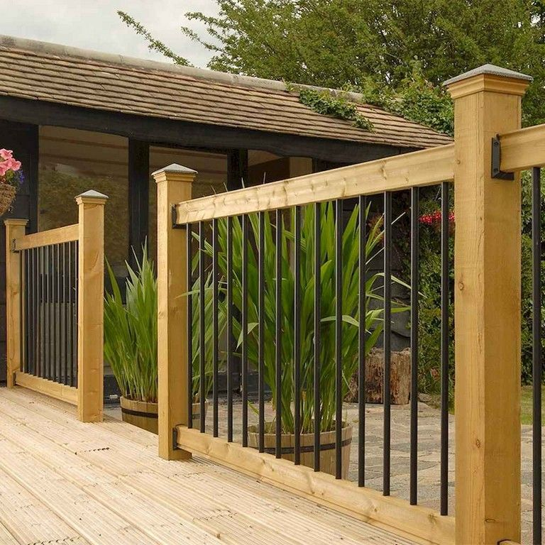 50 Awesome Deck Railing Ideas For Your Home Page 47 Of 54 Decks Backyard Patio Design Deck Railings