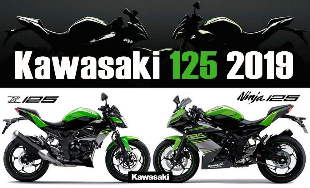 Novas Kawasaki Ninja 125 E Z 125 Para 2019 Motor Bike Kawasaki