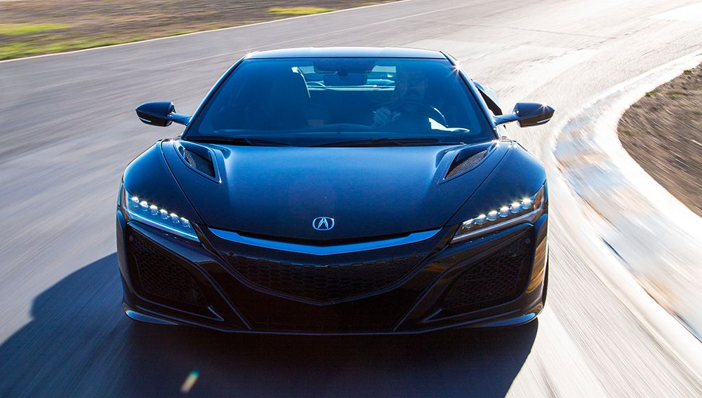 2017 Acura NSX (via Hennessey Performance Plans to Make