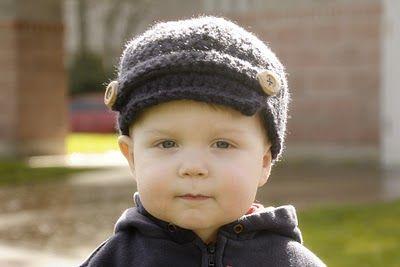 Newsboy Hat Crochet Tutorial