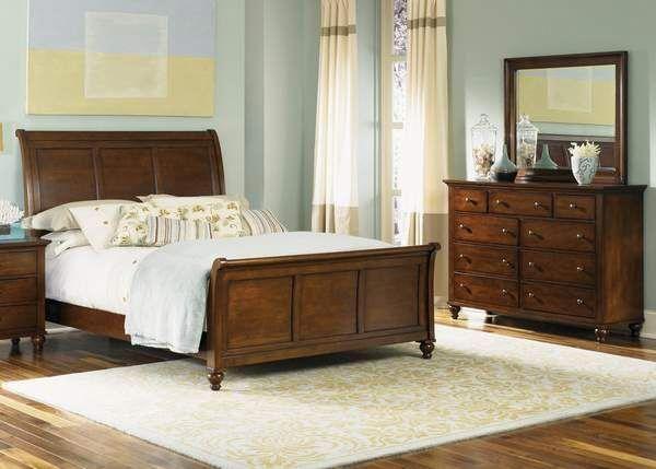 Hamilton Sleigh Bedroom Group #libertyfurniture Liberty Furniture
