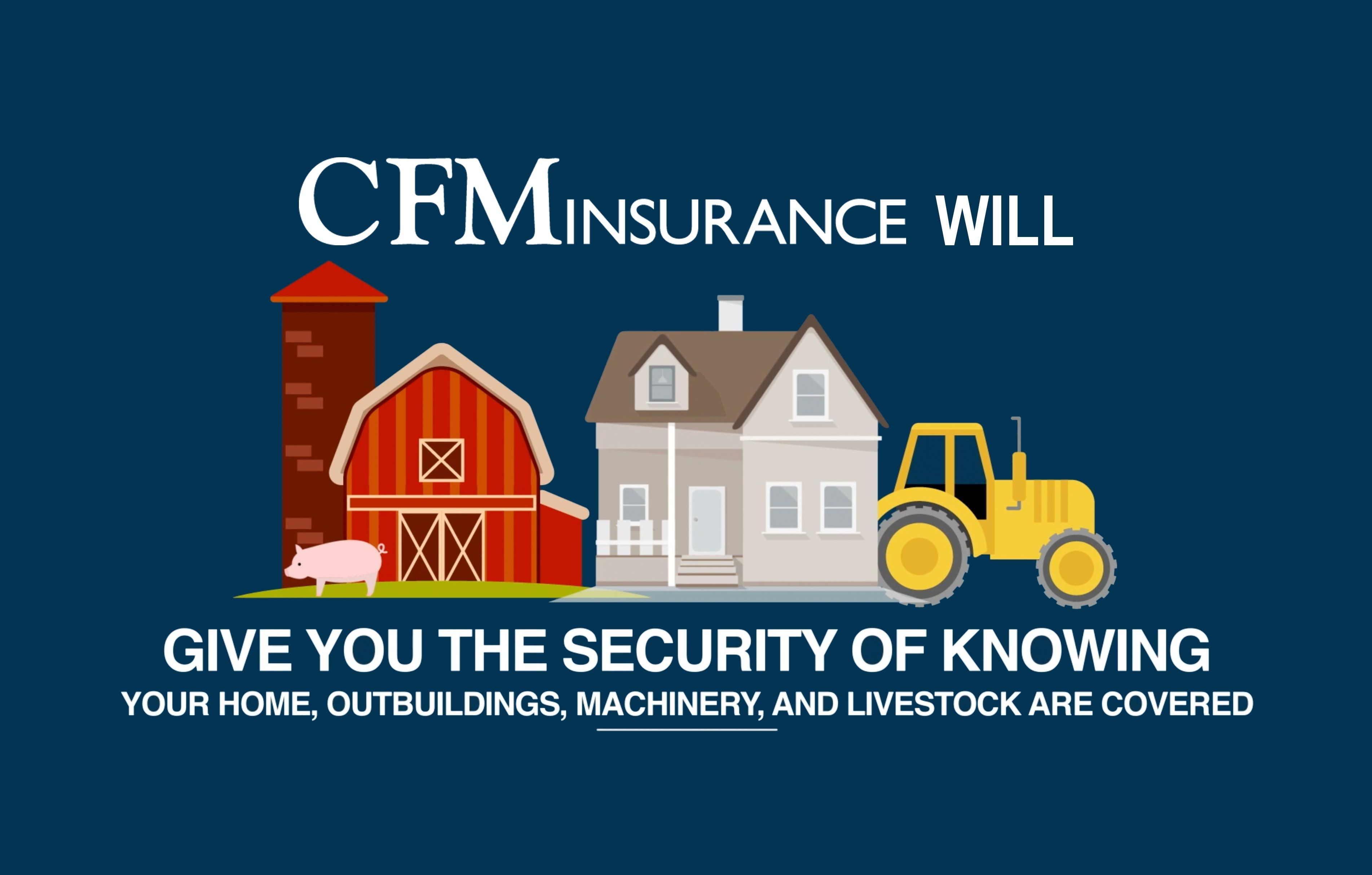 CFM offers six levels of coverage for your home