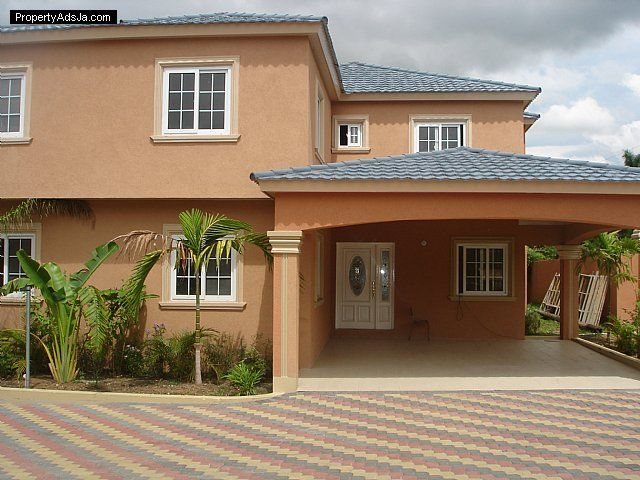 Jamaican Homes And Apartments Jamaica House Home House Colors