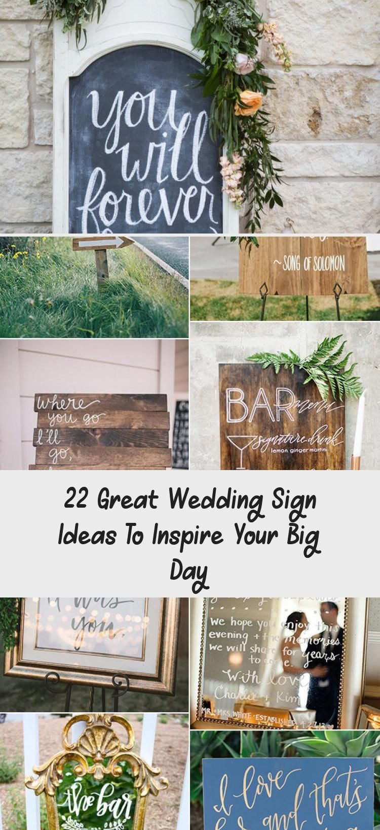 22 Great Wedding Sign Ideas To Inspire Your Big Day Wedding In 2020 Wedding Signs Rustic Wedding Cards Rustic Wedding Games