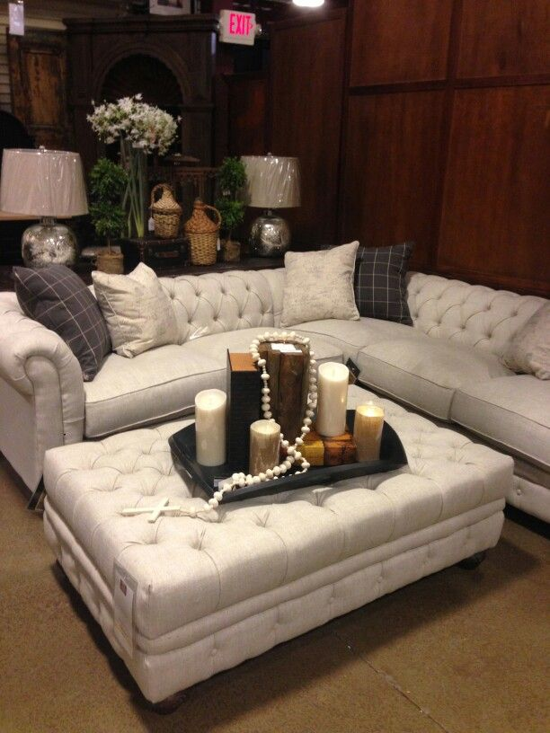 Beautiful New Sectional just showed up at Woodstock Furniture