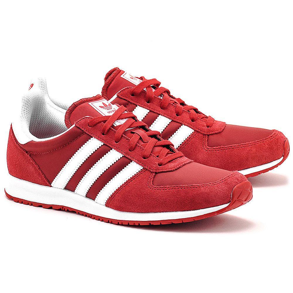 Adidas Racer W Czerwone Nylonowe Sportowe Damskie Buty Kobiety Sportowe Mivo Zapatillas Hombre Zapatillas Hombres