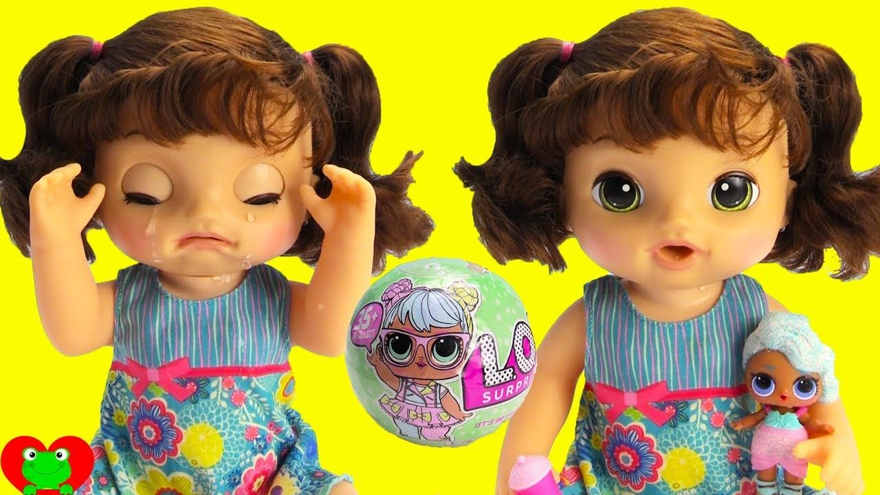 Baby Alive Wont Stop Crying Bad Baby Dolls Pinterest Pretty
