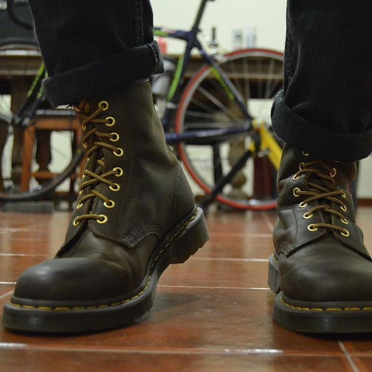 good texture search for authentic popular design My Dr. Martens 1460 Crazy Horse Aztec. | SSA in 2019 | Doc ...