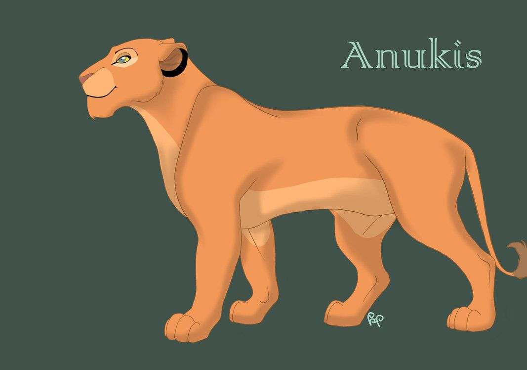 The Lion King Oc Anukis Full By Veeiothas The Lion
