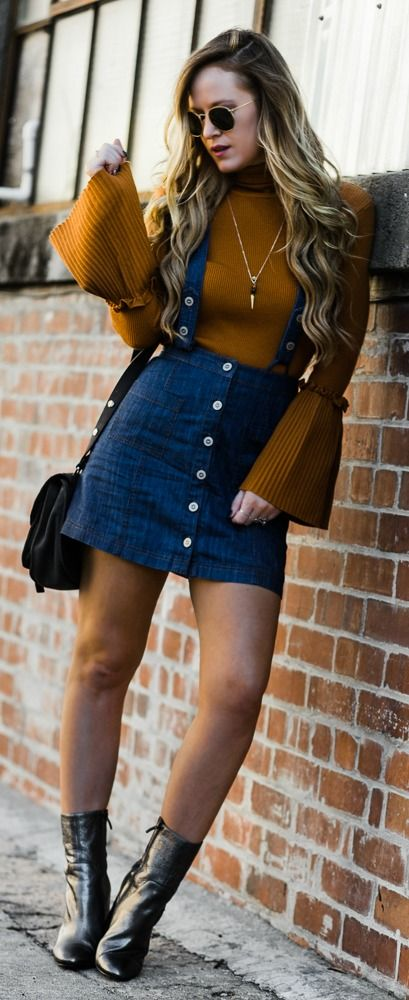 Bell Sleeve Sweater Outfit Fashion World Outfits