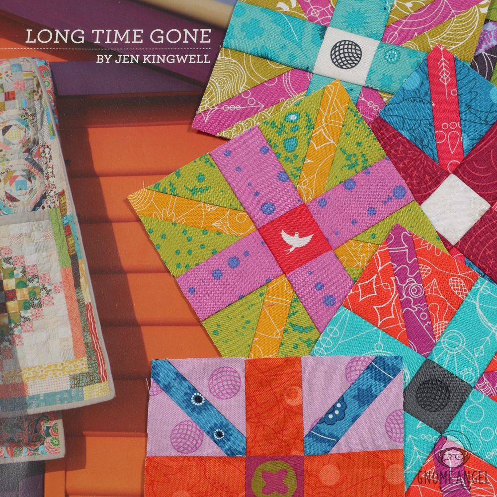 Getting Organised for Long Time Gone Sew-along - GnomeAngel