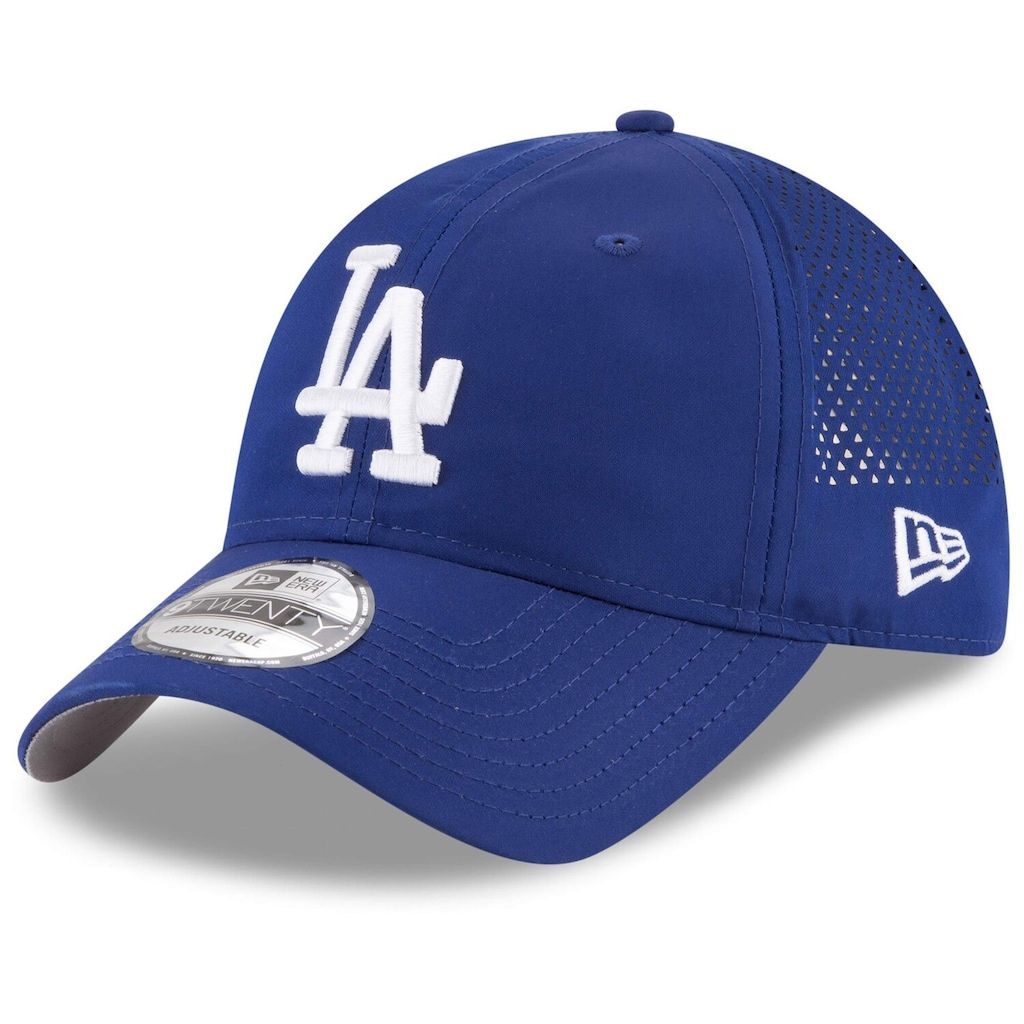 Men S New Era Royal Los Angeles Dodgers Perforated Pivot 9twenty Adjustable Hat Adjustable Hat New Era Hats
