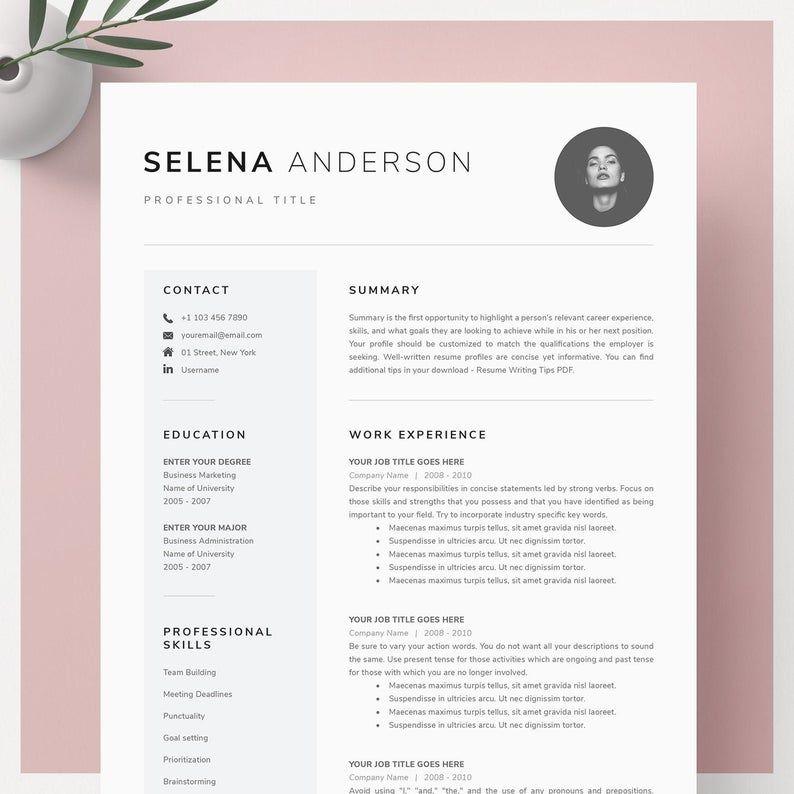 Resume Template Resume Template Word Resume With Photo Cv Cv Template Resume With Cover Letter Professional Resume Template Download Resume Template Word Resume Template Professional Resume Template