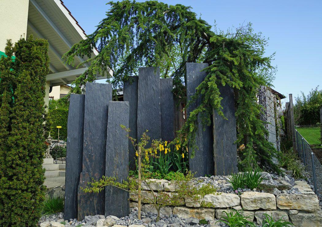 Sichtschutz Im Garten Garten Armin Hollenstein In 2020 Sichtschutz Garten Sichtschutzzaun Garten Garten