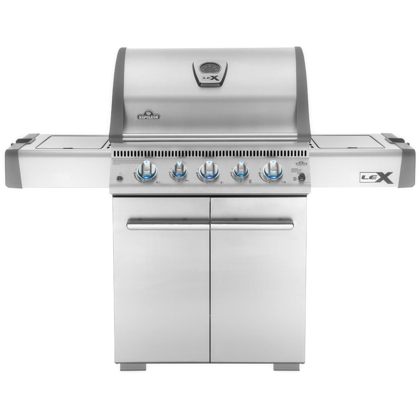 Napoleon LEX 485 Freestanding Natural Gas Grill With Infrared Rear