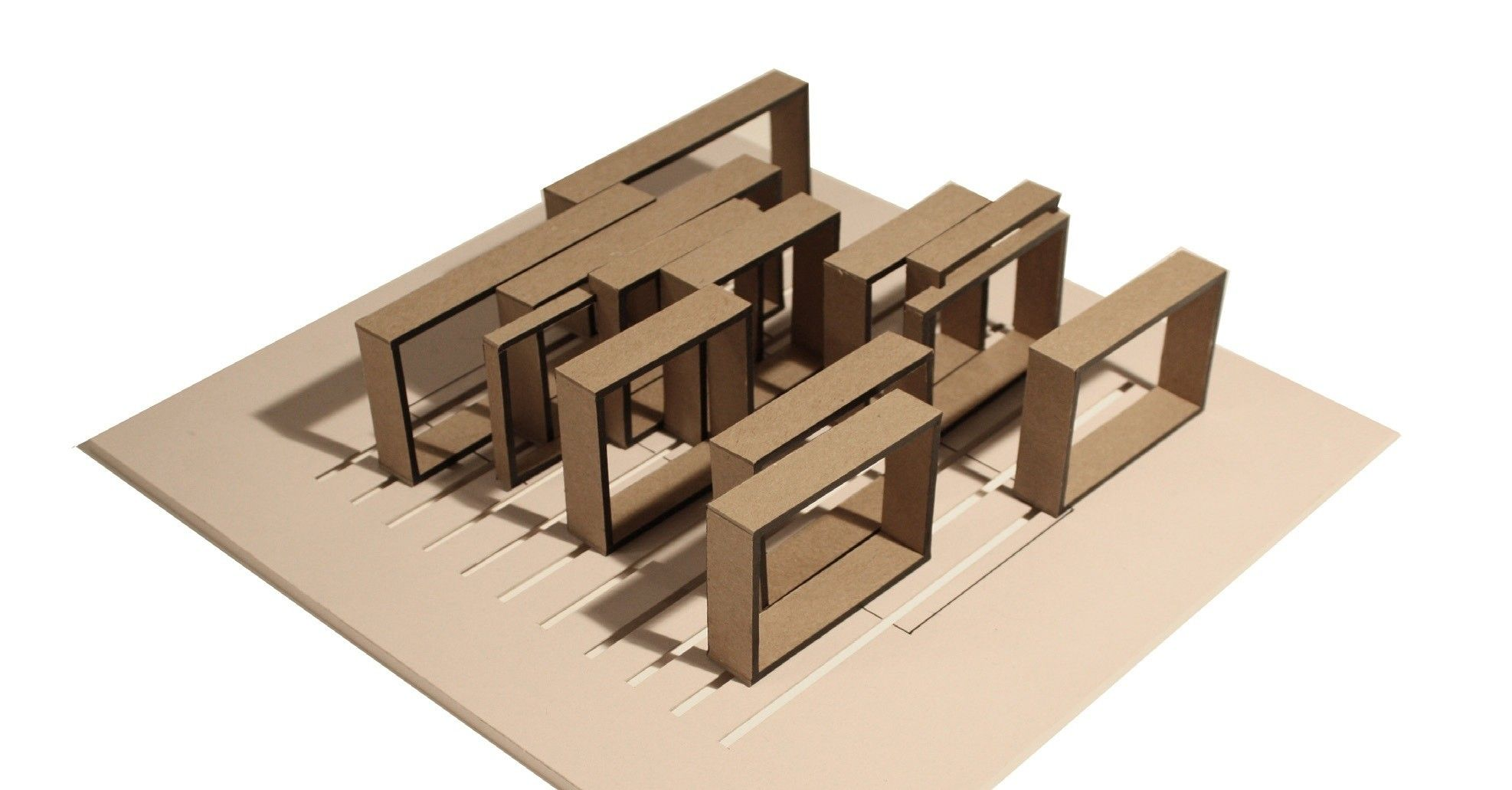 Architectural concept models the image for Concept of space in architecture