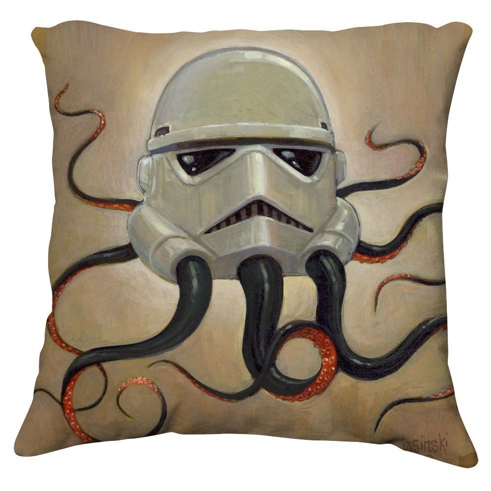 Octatrooper Pillow Cover.....Gus's star wars cousin...