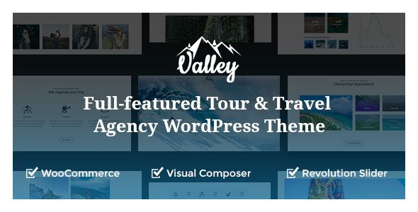 Valley - Full-featured Tour & Travel Agency WordPress Theme ...