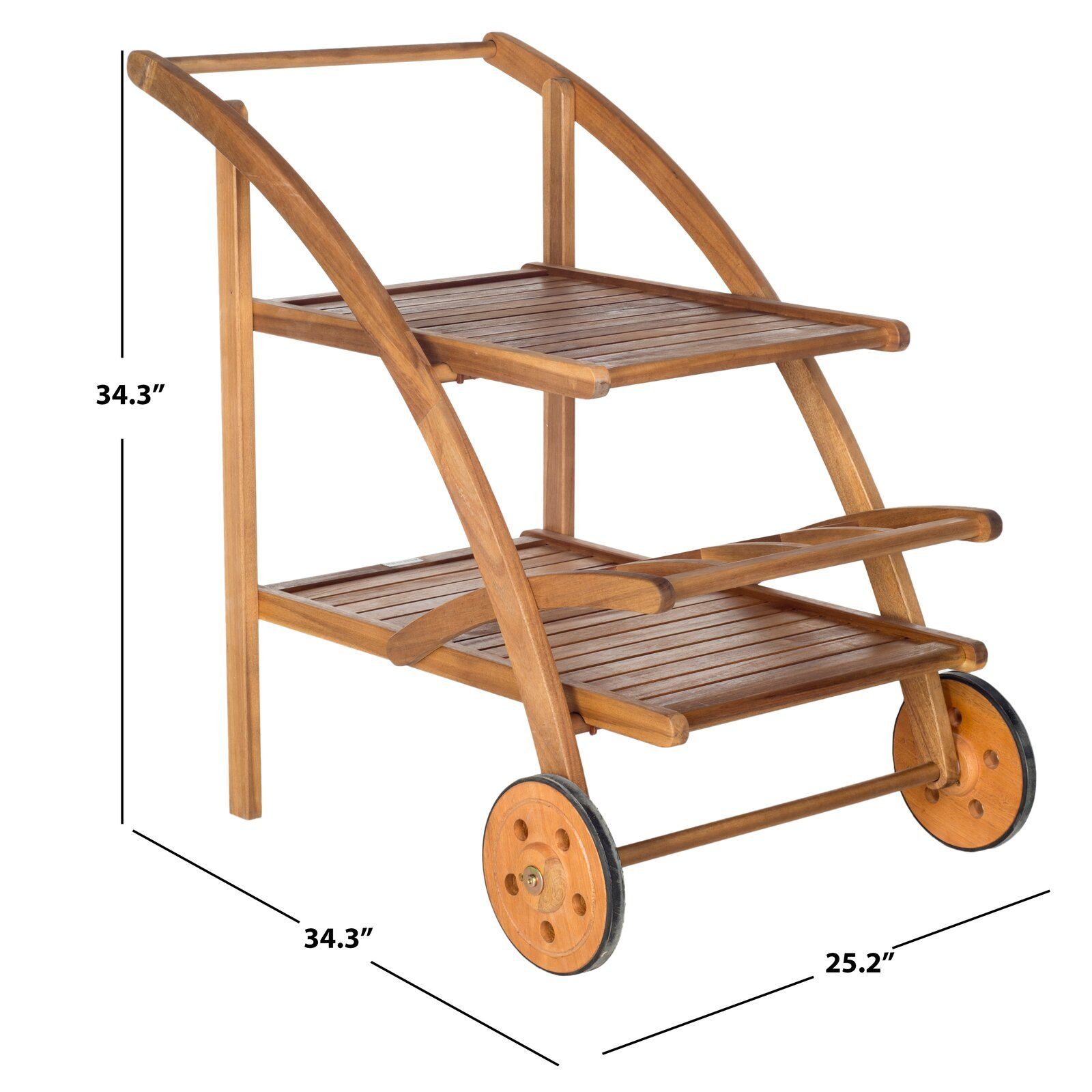 Drachten Tea Bar Serving Cart in 2020 Tea cart, Rustic