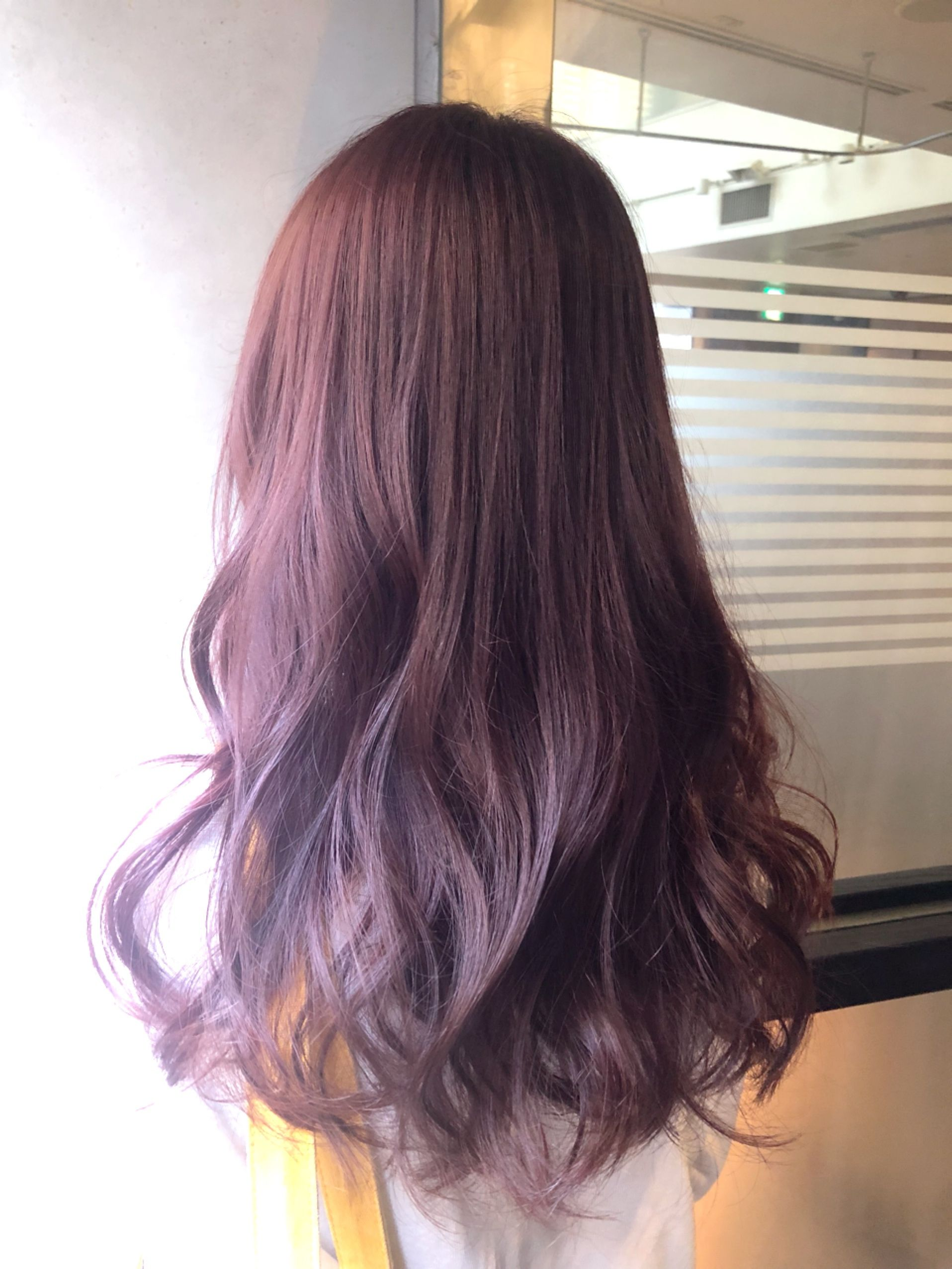 ブリーチ無しのピンクパープル Risel Hair Salon Color ヘア