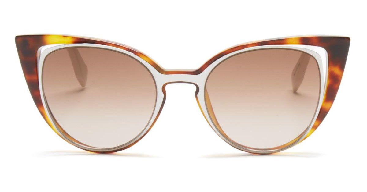800b40d4f0f49 Fendi Floating Cat Eye Sunglasses