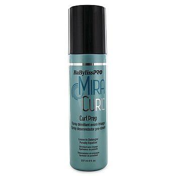 Curl Foundation MiraCurl é um leave-in ideal para conseguir cachos perfeitos. A fórmula contém  polímeros termoativados que além de deixarem os cachos bem estruturados e duradouros, protegem os cabelos.  O Curl Prep você usa antes de fazer o babyliss . O produto é ideal para quem tem cabelos longos, danificados e com tendência a embaraçar. Pode ser usado sozinho ou junto com o Curl Foundation MiraCurl.  MiraCurl Hair Spray é  o produto finalizador, para fixar e dar brilho.