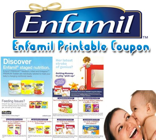 Enfamil Printable Coupon   Enfamil Printable coupons Coupons