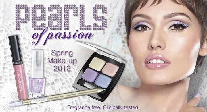Isadora Spring Make-Up 2012.