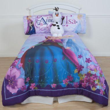 Disney Frozen Celebrate Love Reversible Comforter Found At