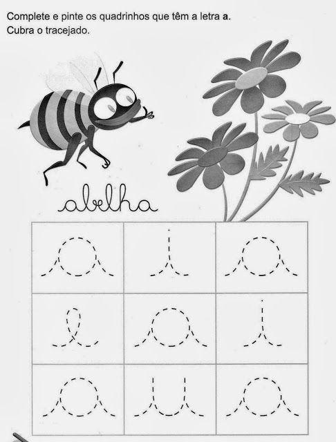 Educar X: Atividades coordenação motora vogais